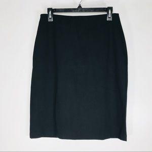 Grace knit black pencil skirt size 8